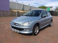 Peugeot 206 1.4 Petrol, 67 000 Miles, Mot April 2018