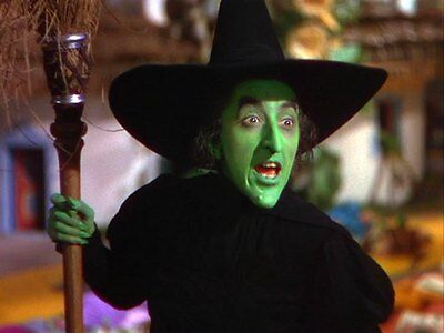 WIZARD OF OZ WICKED WITCH 1939 MOVIE TV 8X10 GLOSSY COLOR PHOTO