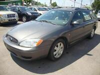 2005 Ford Taurus WAGON SEL 7PASS CUIR-TOIT Gris-Grey
