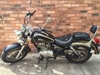 Discount ! Sinnis Vista 125cc - 12 MONTHS MOT