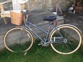 Vintage BSA bicycle