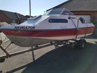 Shetland 535 fishing boat (18ft)