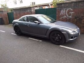 Mazda rx8 alloy wheels and tyres 18 inch 5x114