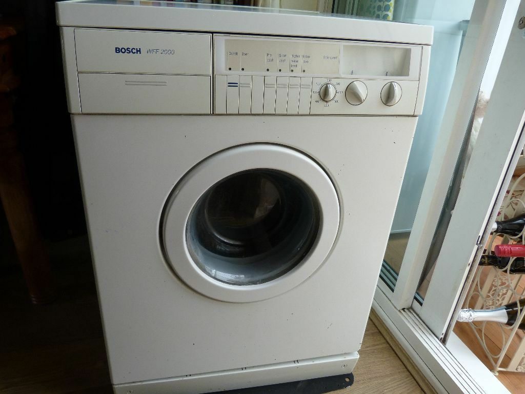 bosch washing machine bosch washing machine model wff2000 working order 11622