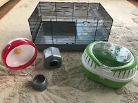 Medium Wire Hamster Cage