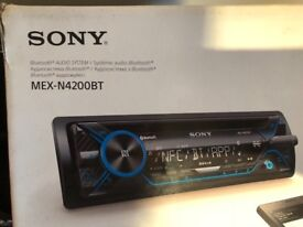 Sony Bluetooth Radio 2017