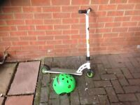 Child's scooter. MGP Pro. Plus helmet (hardly used) VGC.