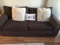 Next 3 seater sofa and cuddle chair