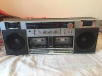 SANYO TWIN CASSETTE PLAYER FOR SALE