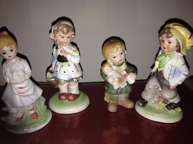 Seven little figurines