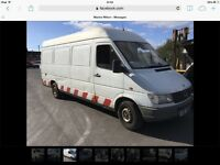 1999 mercedes sprinter Lwb 310 & 312 export