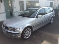 BMW E46 330i M Sport Touring with 83k on the clock