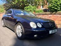 2002 Mercedes CL500 Auto Drives Superb Full Mot