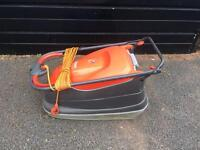 Flymo compact lawn mower