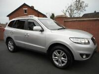 2010 HYUNDAI SANTE FE crdi{7 seater,excellent spec,just serviced by hyundai,leather,finance ava}
