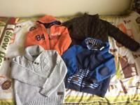 Boys all seasons clothes bundle age 8-9