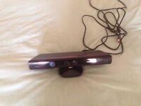 Xbox 360 Kinect sensor and 5 energetic and fitness games