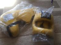 Cleto Reyes groin and head guard