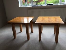 Two side or occasional tables