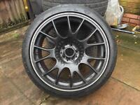BBS CH 18 inc alloys 5/100 in good condition with tures