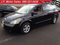 2007 Nissan Quest S, Automatic, 3rd Row, DVD, FWD