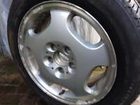 Mercedes Tyre with Rim £40