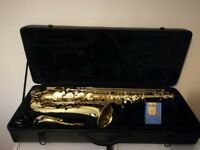 Tenor Saxophone with case