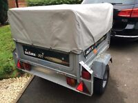 Daxara Tipping Trailer with High Capacity cover