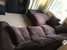 Sofa Corner - Brown