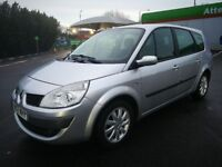 7 SEATER RENAULT GRAND 1.6 IN VERY CLEAN CONDITION. 1 YEAR MOT. SERVICE HISTORY. 2 KEYS. 2 OWNERS