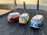VW camper van photo holders