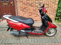 2008 Honda Lead 110 automatic scooter, new 1 year MOT, very good runner, bargain, same as 125,,