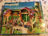 PlayMobil Farm 5119 - barn with silo (excellent condition with original box)
