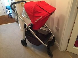 Uppababy Cruz Pushchair & Carrycot - REDUCED!!