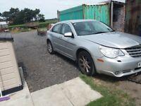 Chrysler sebring limited diesel 2008 spares or repair