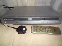 Alba DVD player with remote control