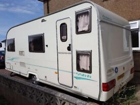 Avondale Firbeck 556-6, 6 berth caravan. 2005 model