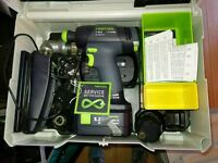 Festool drill T18+3 new