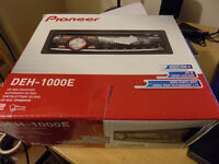 Pioneer DEH-1000E CD Player/MP3 In Dash Receiver - Exc' Condition!