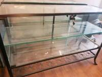 Glass show cabinets