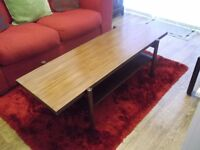 OLD SOLID WOOD COFFEE TABLE