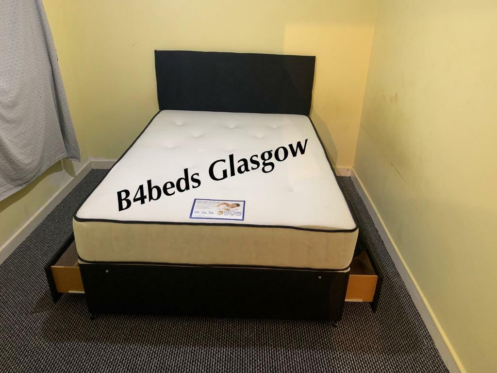 Single And Double Or King Size Bed Matt 2 Draws Headboard In East End Glasgow Gumtree