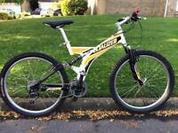 Specialized Rockhopper FSR full suspension mountain bike