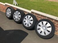 Ford Focus 15 inch wheels and tyres