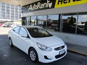 2015 White Hyundai Accent Hobart CBD Hobart City Preview