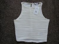 Crop Top New With Tags Size 6.