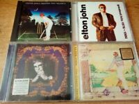 BIG COLLECTION OF ELTON JOHN CD ALBUMS - BUY GET A FREE WELTON JOHN SIANGLE CD