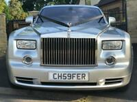 Rolls Royce Phantom Wedding Car Hire | Chauffeur | Aston Martin | Bentley Flying Spur |