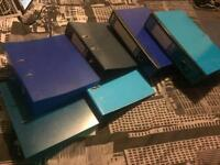 4 Lever Arch Folders and 2 Box Folders