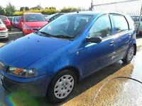 fiat punto 1.2 automatic 5 door 48000 miles full years mot 2002